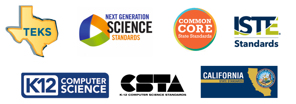 State and National Standards Aligned